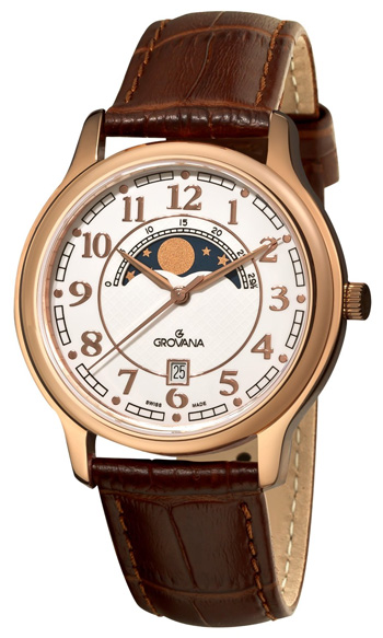 Grovana Moonphase Men's Watch Model 1026.1563
