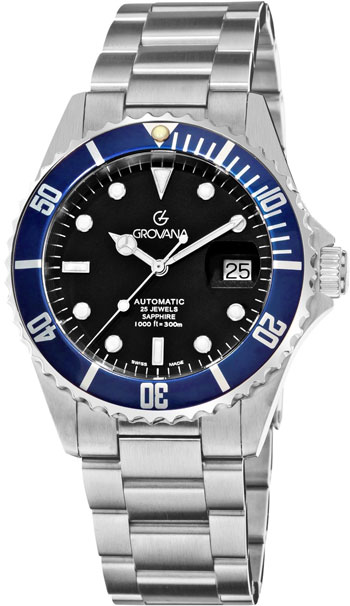 Grovana Diver Men's Watch Model 1571.2135