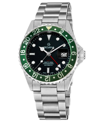 Grovana GMT Diver Mens Wristwatch