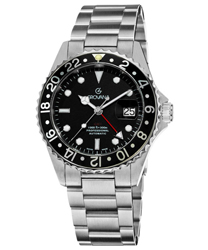 Grovana GMT Diver Men's Watch Model 1572.2137
