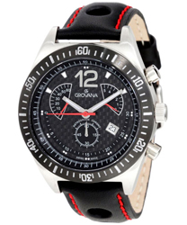 Grovana Retrograde Chronograph Men's Watch Model: 1620.9576