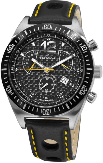 Grovana Retrograde Chronograph Men's Watch Model 1620.9578
