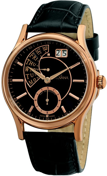 Grovana Day Retrograde Men's Watch Model 1718.1567