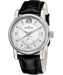 Grovana Day Retrograde Mens Wristwatch