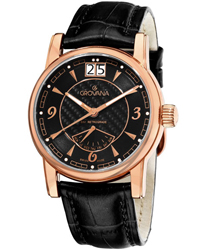 Grovana Day Retrograde Men's Watch Model: 1721.1567