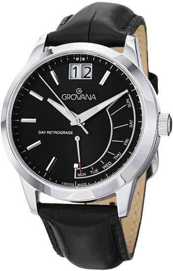 Grovana Retrograde Day  Men's Watch Model 1722.1534