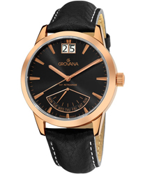 Grovana Retrograde Day  Mens Wristwatch