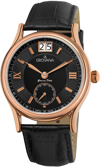 Grovana Big Date Men's Watch Model 1725.1567