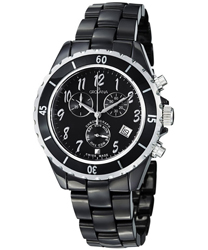 Grovana Ceramic Men's Watch Model: 4001.9187