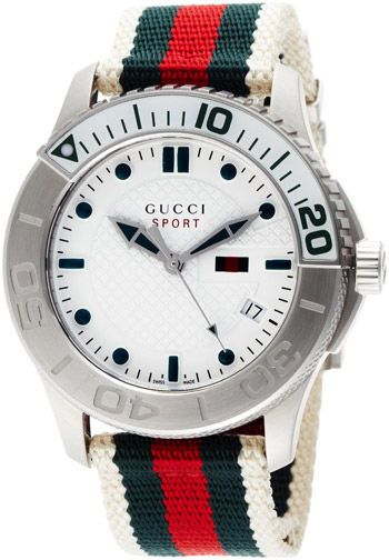 Gucci Timeless Mens Wristwatch Model: YA126231