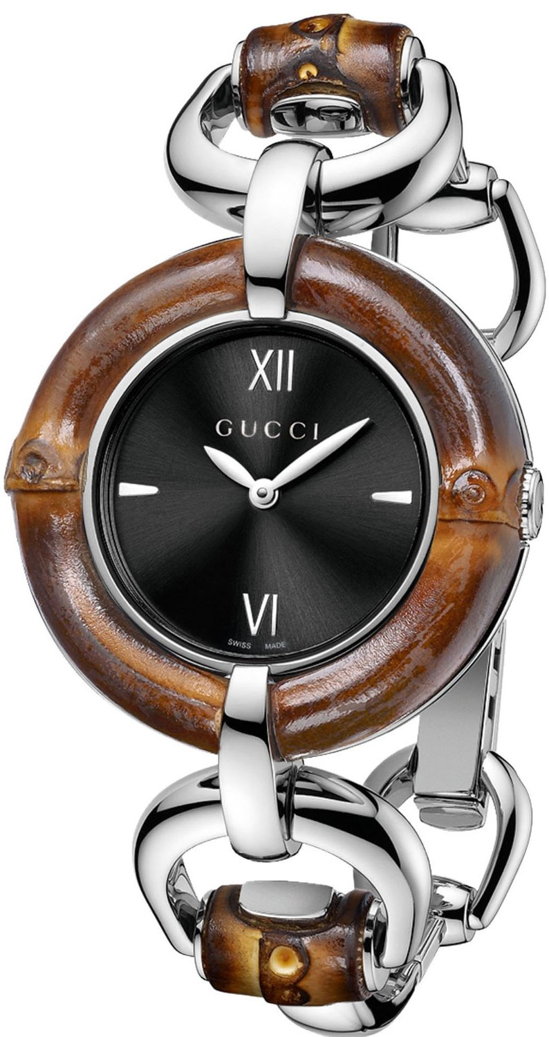 b2e364cbc04 Gucci Bamboo Ladies Watch Model  YA132401
