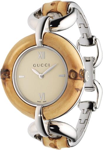 3435e8f5126 Gucci Bamboo Ladies Watch Model  YA132404
