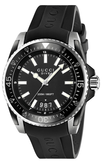 Gucci Dive Men's Watch Model YA136204