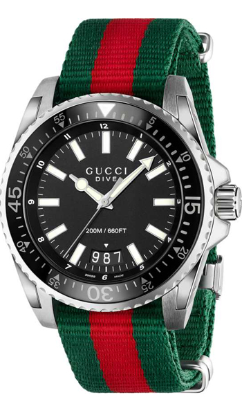 e1a18e3c4f0 Gucci Dive XL Men s Watch Model  YA136206