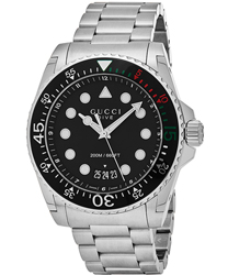 Gucci Dive XL Men's Watch Model YA136208
