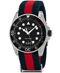 Gucci Dive Men's Watch Model YA136210