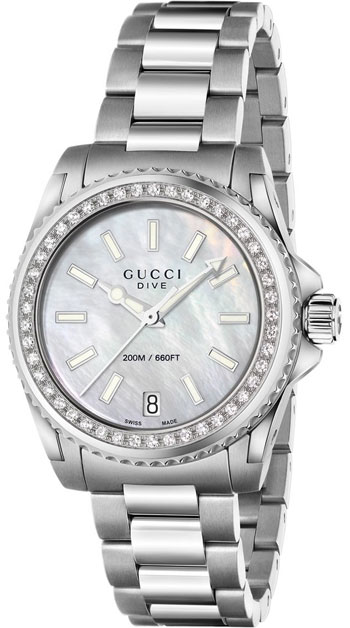 Gucci Dive Ladies Watch Model YA136406