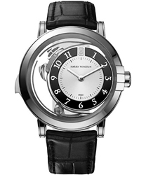 Harry Winston Midnight  Men's Watch Model 450-MMMR42WL.W1