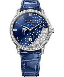 Harry Winston Midnight Ladies Watch Model MIDQMP39WW004