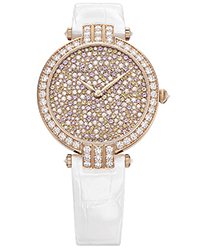Harry Winston Premier Ladies Watch Model PRNAHM36RR011