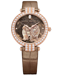Harry Winston Premier Ladies Watch Model PRNAHM36RR023