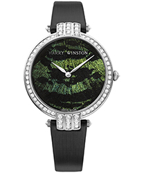 Harry Winston Premier Ladies Watch Model PRNAHM36WW004