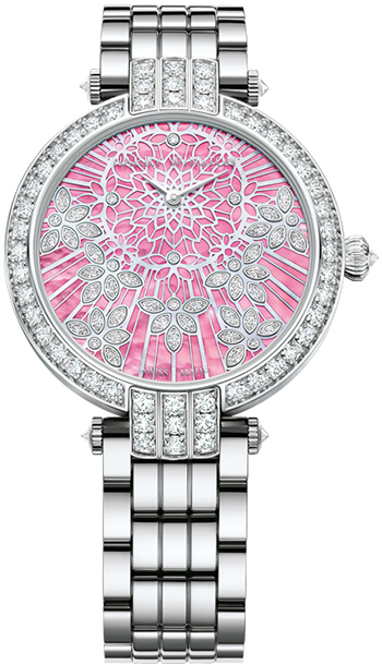 Harry Winston Premier Ladies Watch Model PRNAHM36WW017
