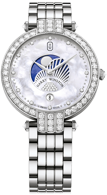 Harry Winston Premier Ladies Watch Model PRNQMP36WW003