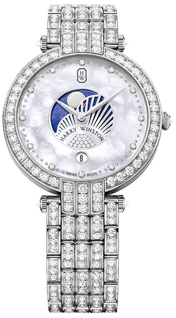 Harry Winston Premier Ladies Watch Model PRNQMP36WW004