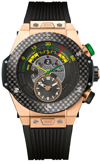 Hublot Unico Bi-retrograde 2014 Fifa World Cup Men's Watch Model 412.OQ.1128.RX