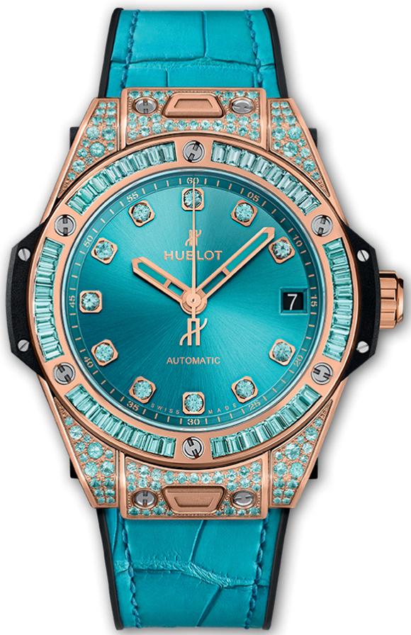 Hublot Big Bang One Click 39mm Ladies Watch Model 465OX898TLR0919