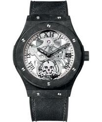 Hublot Classic Fusion Men's Watch Model 505.UC.0170.VR.SKULL