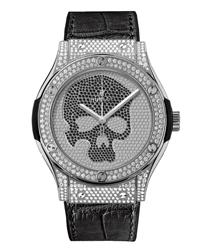 Hublot Classic Fusion Men's Watch Model 511.NX.9000.LR.1704.SKULL