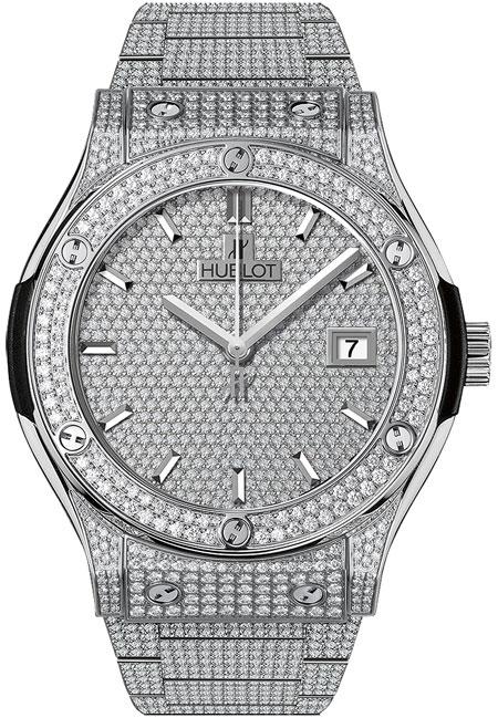 Hublot Classic Fusion Men's Watch Model 542.NX.9010.NX.3704 Thumbnail 2