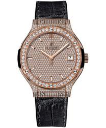 Hublot Classic Fusion Ladies Watch Model 581.OX.9010.LR.1704