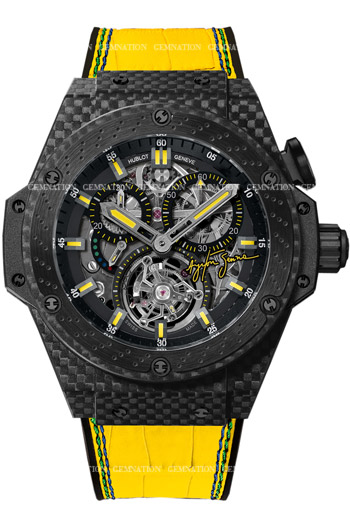 Hublot Big Bang King Power Tourbillon Ayrton Senna Mens Wristwatch Model: 708.QM.1129.NR.AES10