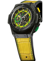 Hublot King Power Scolari Carbon Black Cermaic   Model: 716.CQ.1199.LR.SOl14