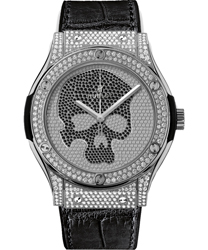 Hublot Classic Fusion Diamond Skull Men's Watch Model: 542.NX.9000.LR.1704.SKULL