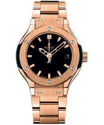 Hublot Classic Fusion Ladies Watch Model 581.OX.1180.OX