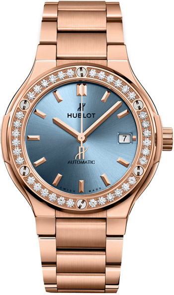 Hublot Classic Fusion Unisex Watch Model 568.OX.891L.OX.1204