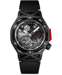 Hublot Techframe Ferrari Tourbillon Chronograph Men's Watch Model: 408.QU.0123.RX