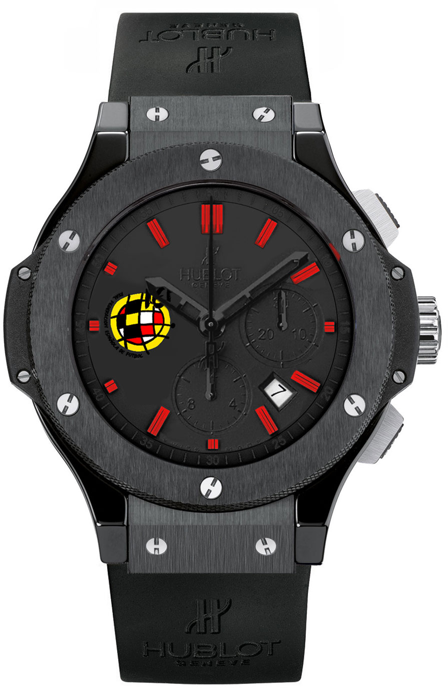 hublot big bang men 39 s watch model spanish federation bang