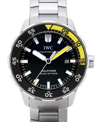 IWC Aquatimer Mens Wristwatch