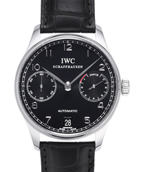 IWC Portuguese Mens Wristwatch Model: IW500109