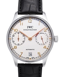 IWC Portuguese Mens Wristwatch Model: IW500114