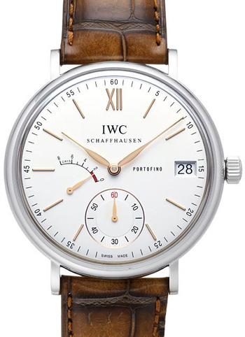 IWC Portofino Hand-Wound Eight Days Mens Wristwatch Model: IW510103