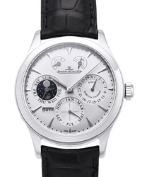Jaeger-LeCoultre Master Eight Days Mens Wristwatch