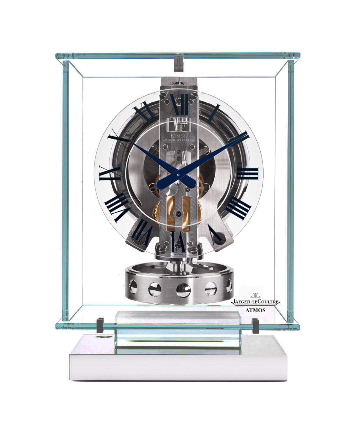 clocks atmos glass crystal jaeger clock lecoultre watches