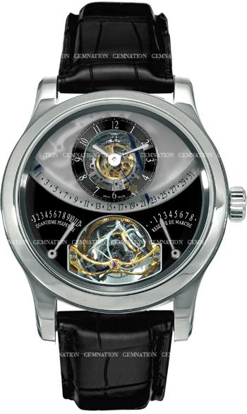 jaeger lecoultre gyrotourbillon 1 men 39 s watch model q6006420b. Black Bedroom Furniture Sets. Home Design Ideas