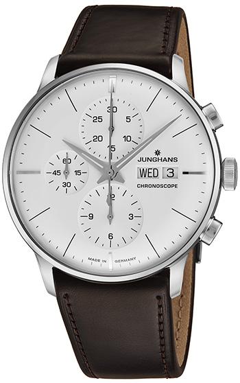 55c408694c1c4 Junghans Meister Chronoscope Men s Watch Model  027 4120.01